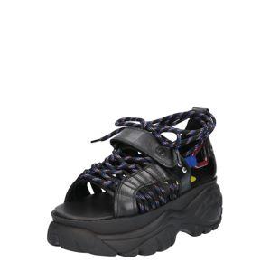 Buffalo London Remienkové sandále 'ELIN'  čierna