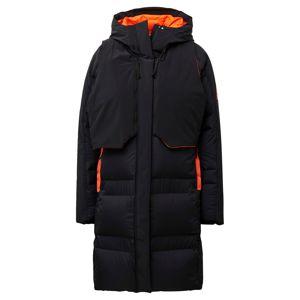 ADIDAS PERFORMANCE Outdoorový kabát 'My Shelter'  čierna / neónovo oranžová