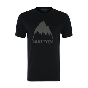BURTON Funkčné tričko 'MB CLSSMTNHGH SS'  čierna / sivá