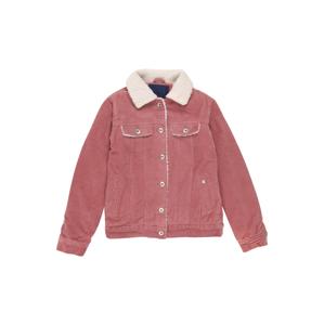 STACCATO Prechodná bunda  rosé / biela