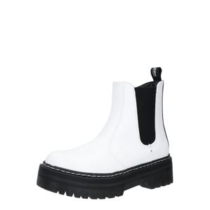 Dockers by Gerli Chelsea čižmy  čierna / biela