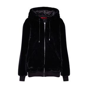 HUGO Prechodná bunda 'Fionas-1'  čierna