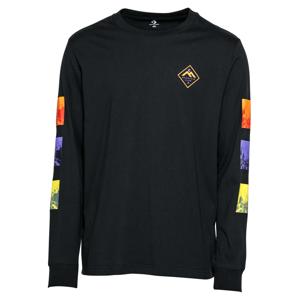 CONVERSE Tričko 'TRYPTICH'  čierna / zmiešané farby