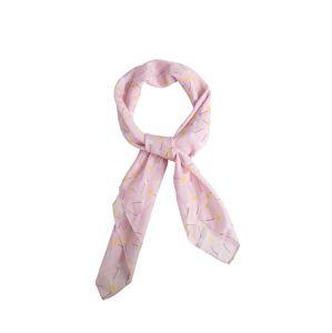 EDITED Látkové rúško 'Ranee'  ružová / biela