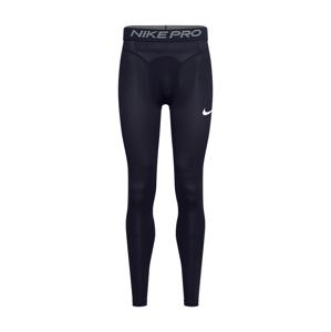NIKE Športové nohavičky  sivá / biela / čierna
