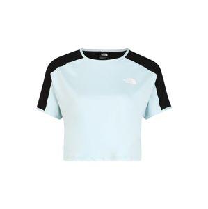 THE NORTH FACE Funkčné tričko 'Active Trail'  svetlomodrá / čierna