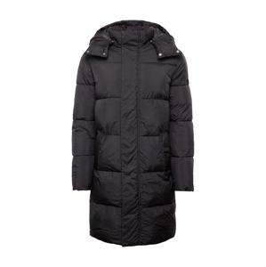 TOM TAILOR DENIM Zimný kabát  čierna