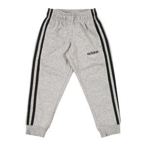ADIDAS PERFORMANCE Športové nohavice  čierna / sivá melírovaná