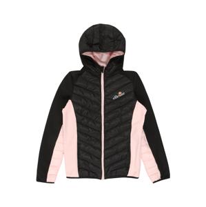 ELLESSE Prechodná bunda 'Lilona'  čierna / ružová