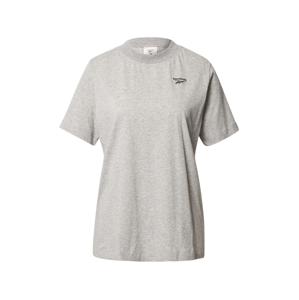 REEBOK Funkčné tričko 'TE Easy'  sivá