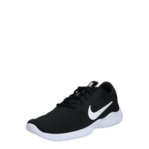 NIKE Športová obuv 'Nike Flex Experience Run 9'  čierna / biela