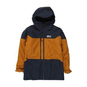 Picture Organic Clothing Outdoorová bunda 'Proden'  námornícka modrá / zlatá žltá / biela