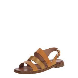 MJUS Remienkové sandále 'GRAM'  béžová / svetlohnedá