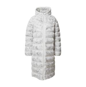 Nike Sportswear Zimný kabát  biela / svetlosivá