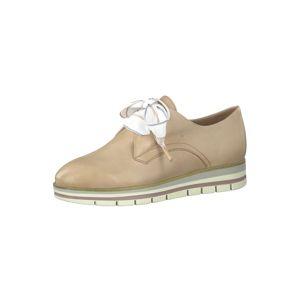 MARCO TOZZI Šnurovacie topánky  telová / rosé