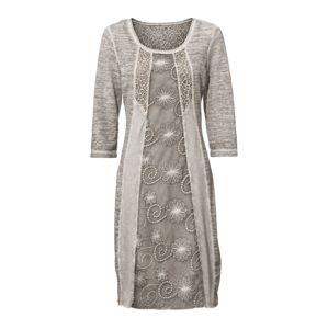 heine Šaty  sivá