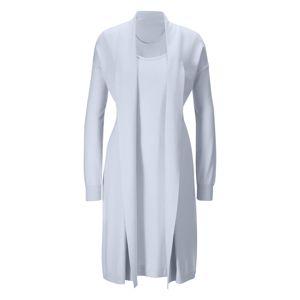 heine Pletené šaty  svetlosivá