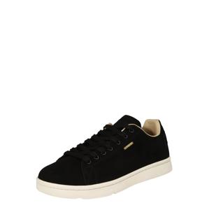 Superdry Športové šnurovacie topánky  čierna / béžová