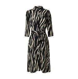 Dorothy Perkins Košeľové šaty  biela / čierna