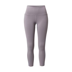 REEBOK Športové nohavice  sivá / striebornosivá
