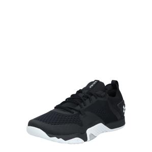 UNDER ARMOUR Športová obuv 'TriBase Reign 2'  čierna / biela