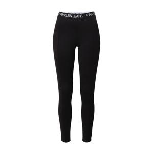 Calvin Klein Jeans Legíny 'Milano'  čierna / biela