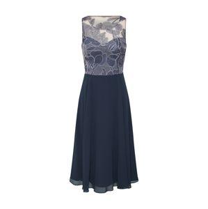 Vera Mont Kokteilové šaty  kobaltovomodrá / sivá