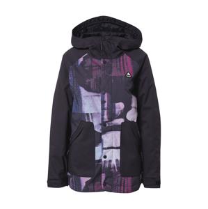 BURTON Outdoorová bunda  modrá / čierna / fialová