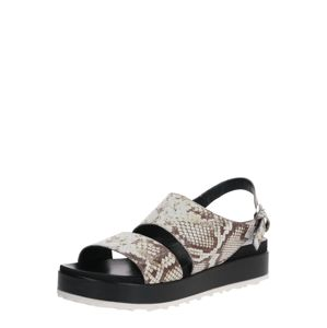 MJUS Sandále 'SOS'  béžová / čierna