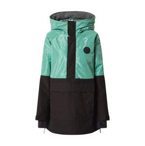 BURTON Outdoorová bunda  čierna / nefritová
