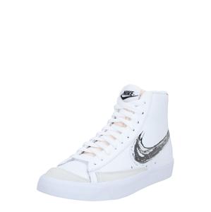 Nike Sportswear Členkové tenisky  červená / biela / čierna