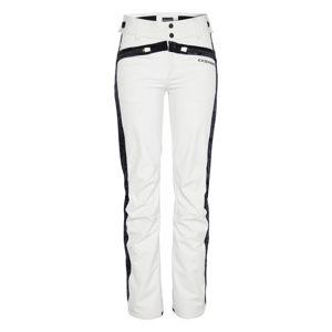 CHIEMSEE Outdoorové nohavice  čierna / biela