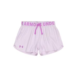 UNDER ARMOUR Športové nohavice 'Play Up'  fialová / tmavofialová