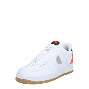 Nike Sportswear Nízke tenisky 'Air Force 1'  červená / biela / čierna
