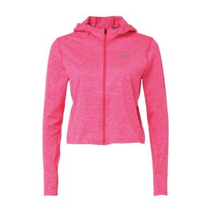 NIKE Funkčné tričko  ružová / sivá melírovaná / béžová