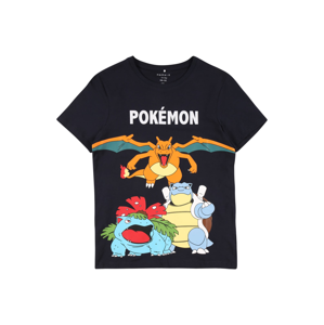 NAME IT Tričko 'Pokémon'  tmavomodrá / biela / zmiešané farby