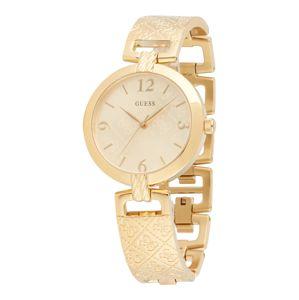 GUESS Analógové hodinky 'Luxe'  zlatá