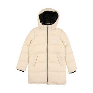 Calvin Klein Jeans Kabát  biela / slonová kosť