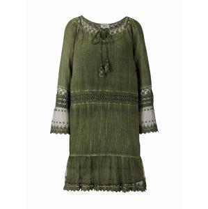 heine Letné šaty  olivová