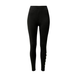 Hummel Športové nohavice  čierna / telová
