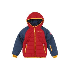 TROLLKIDS Outdoorová bunda 'Hafjell'  hrdzavo červená / zlatá žltá / modrá