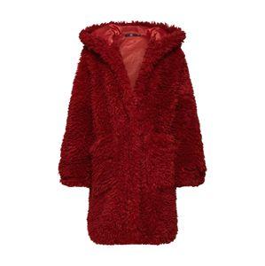 Missguided Zimný kabát  červená