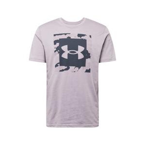 UNDER ARMOUR Funkčné tričko  orgovánová / tmavosivá