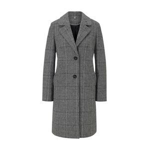heine Prechodný kabát  čierna / šedobiela