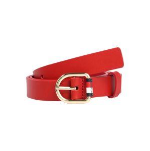 TOMMY HILFIGER Opasky 'Corporate Belt 2.5'  červená
