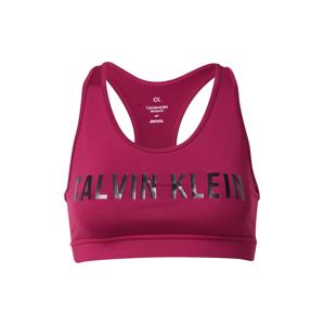 Calvin Klein Performance Športová podprsenka  fialová