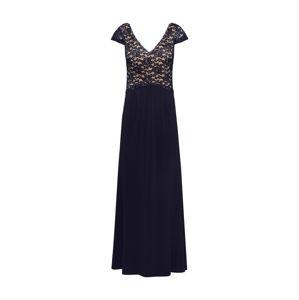 SWING Večerné šaty  béžová / čierna