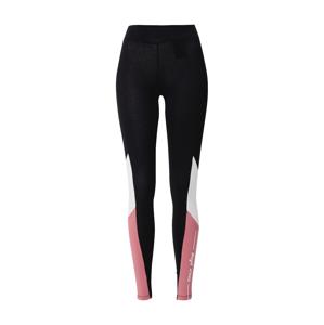 ONLY PLAY Športové nohavice 'OLLI LIFE'  čierna / rosé / biela