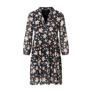 ZABAIONE Šaty 'Rina'  čierna / ružová