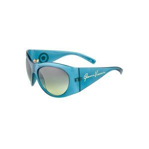 VERSACE Slnečné okuliare  priehľadná / zelená